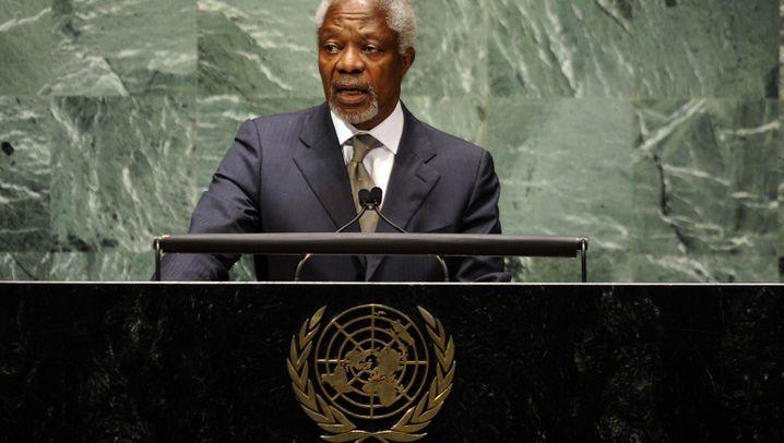 Kofi Annan: Moralische Instanz der Vereinten Nationen