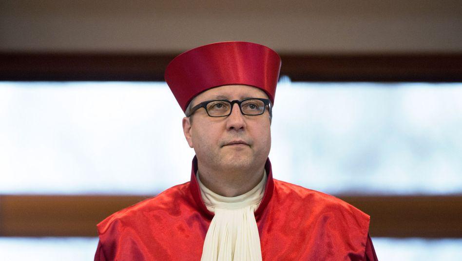 Andreas Voßkuhle, Vorsitzender des Zweiten Senats des Bundesverfassungsgerichts