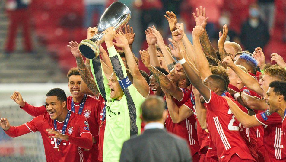 UEFA-Supercup-Gewinner Bayern München: Aufstieg in der Geldrangliste