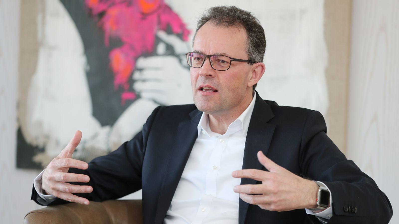 Interview für Geschäftsbericht Lotto Baden-Württemberg Georg Wacker