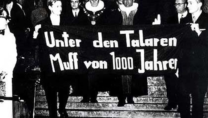 Studentenrevolte: Muff von 1000 Jahren