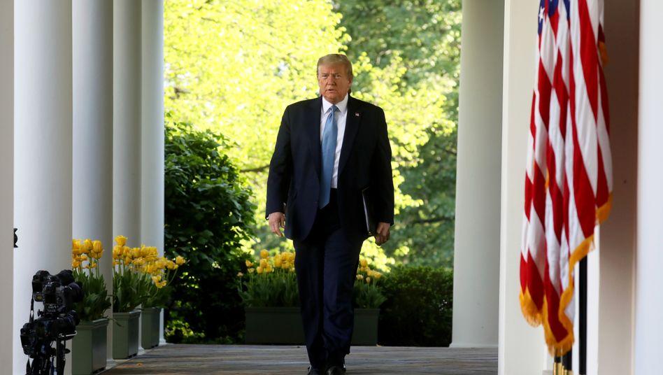 """Donald Trump: """"Vernachlässigung der Pflichten"""""""