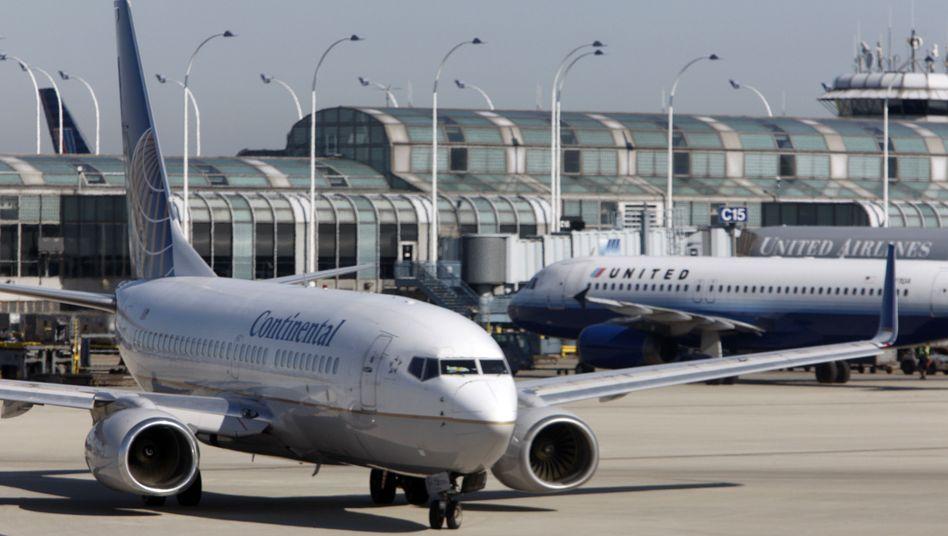 Boeing 737 der Continental: US-Fluglinien müssen Rechte für CO2-Ausstoß kaufen