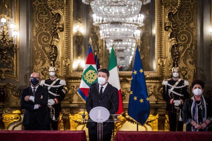 Italienische Politiker nach den Konsultationen mit Staatspräsident Mattarella: Täglich neue Szenarien