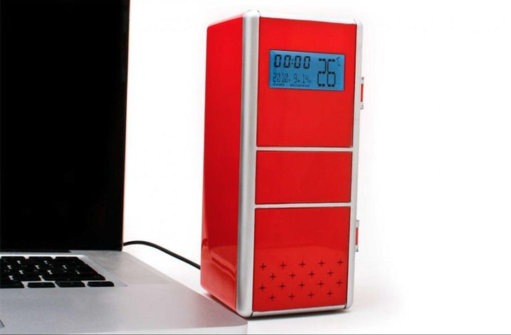 USB-Kühlschrank für den Schreibtisch