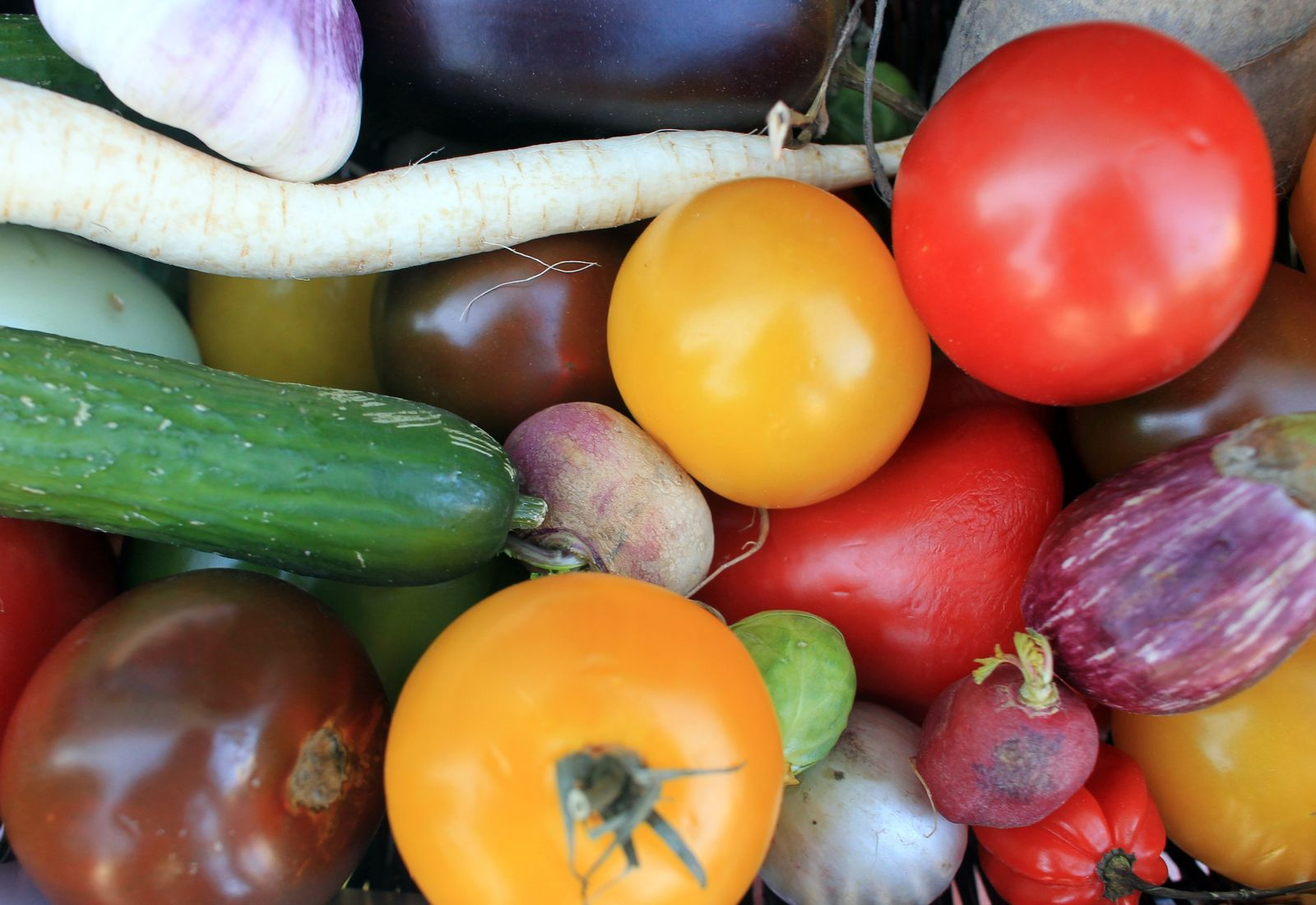 Staßfurt / Gemüse / Korb