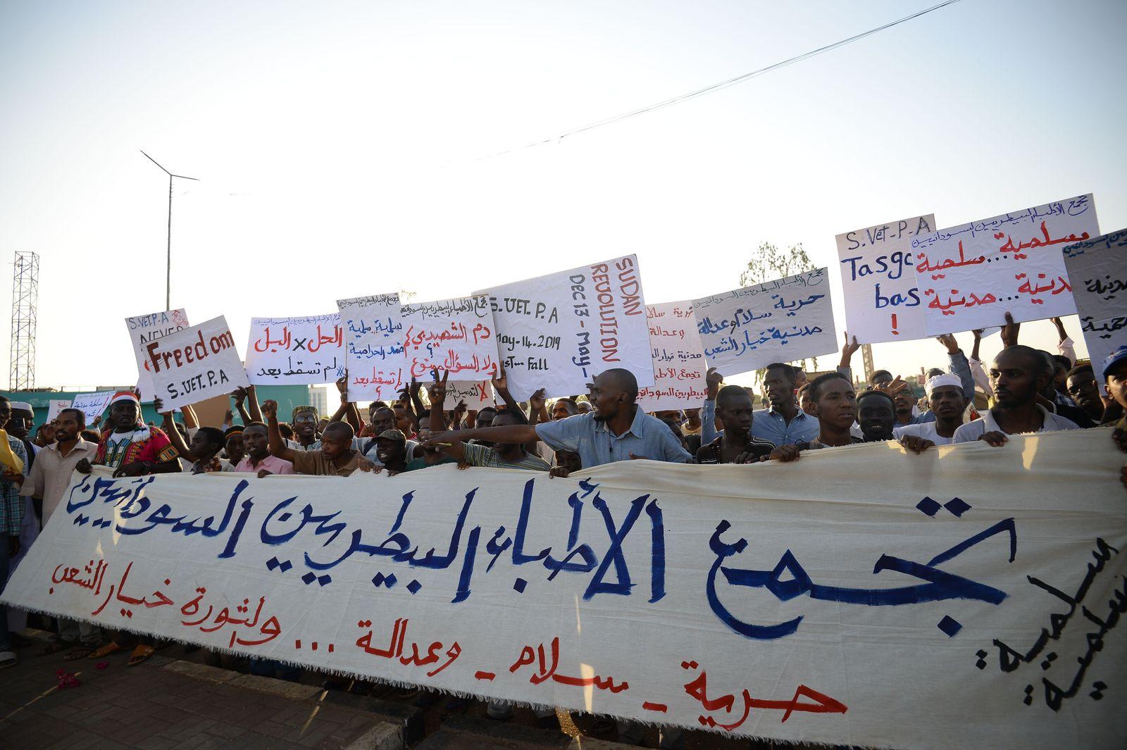 Sudan Proteste Khartum