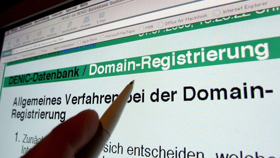 Denic-Webseite: Die Nachfrage nach den neuen Kurz-Adressen ist enorm
