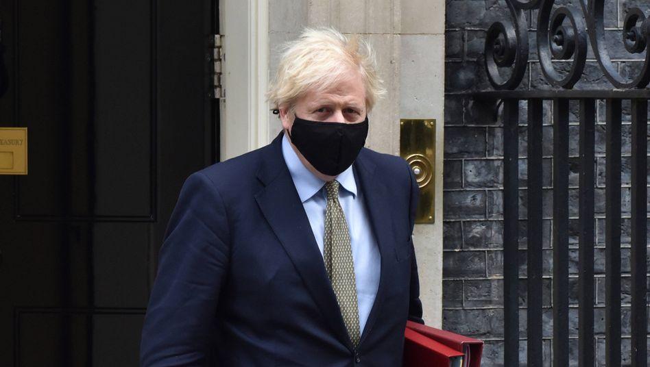 """Premierminister Boris Johnson: """"Der Premierminister stellte fest, dass ein Deal wünschenswert ist"""""""
