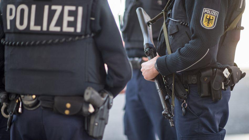 Polizisten der Bundespolizei (Symbolbild)