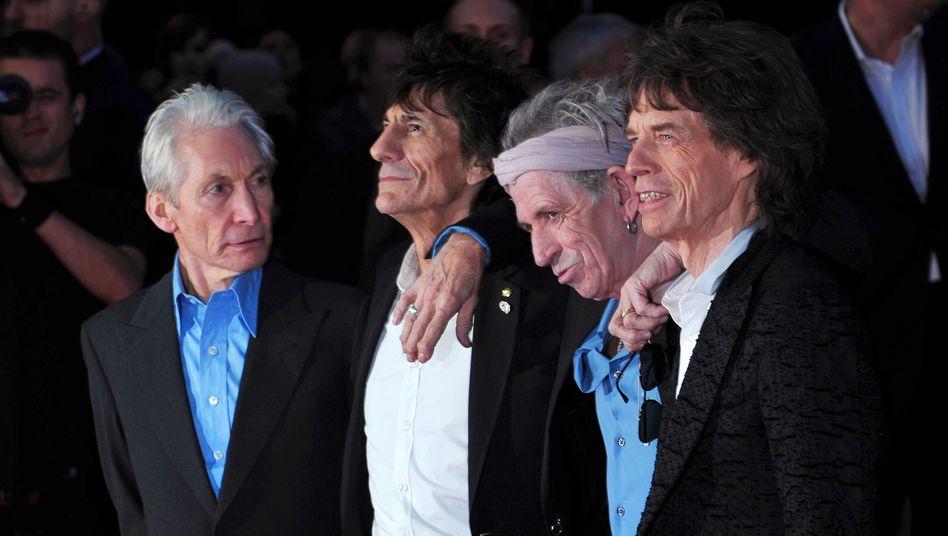 Keith Richards (2.v.r.) : Soloalbum, Doku-Film, Stones-Rückkehr