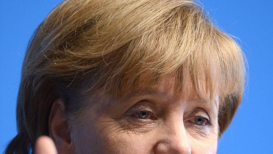 Bundeskanzlerin Angela Merkel (CDU): Steuersenkungen ins Wahlprogramm