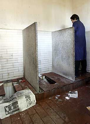 Öffentliche Toilette in Peking: Horrorvorstellung für Paruretiker