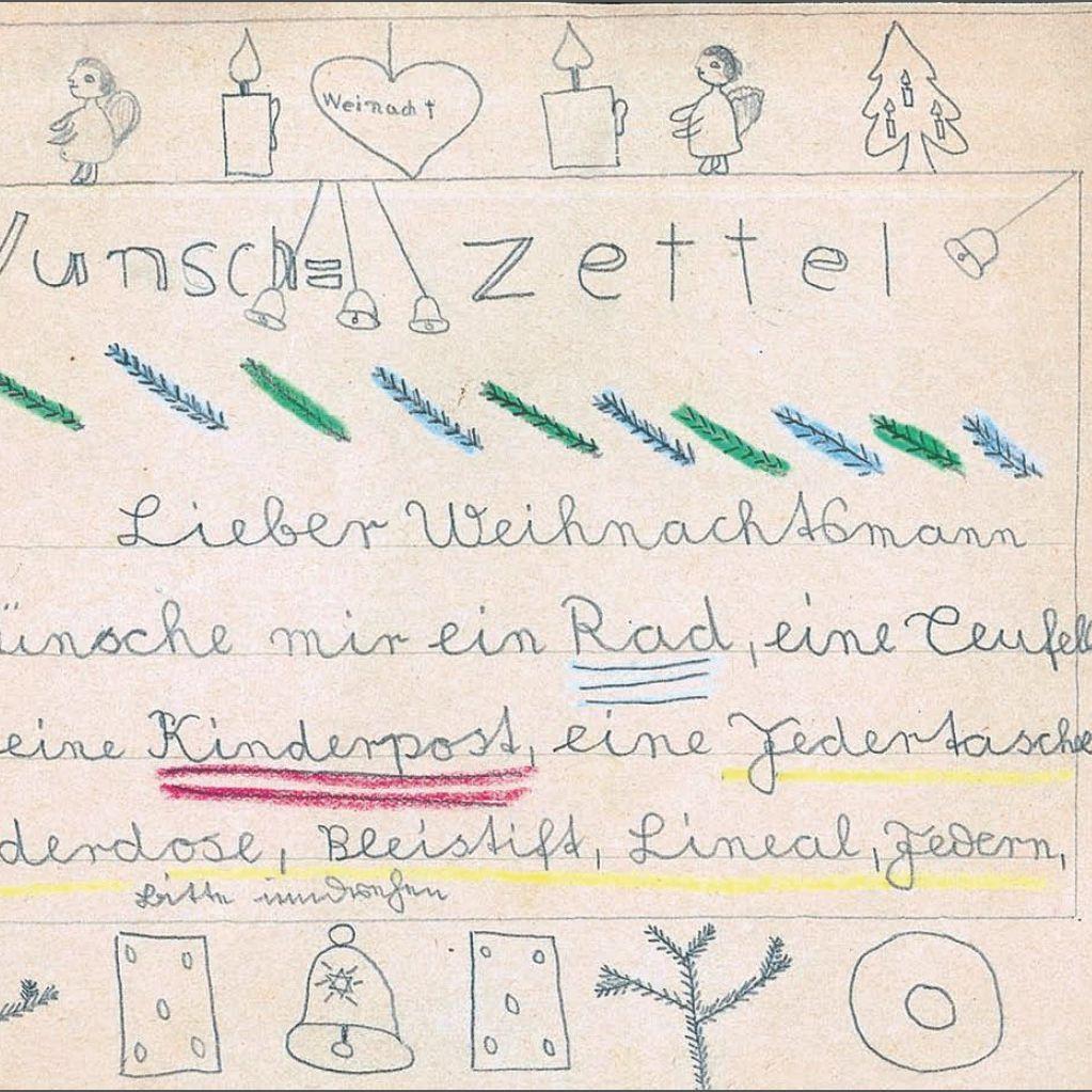 Wunschzettel Konsum Tradition Zu Weihnachten Der Spiegel