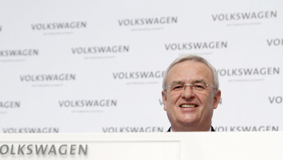 Vw-Chef Winterkorn: Top-Verdiener unter den Dax-Chefs