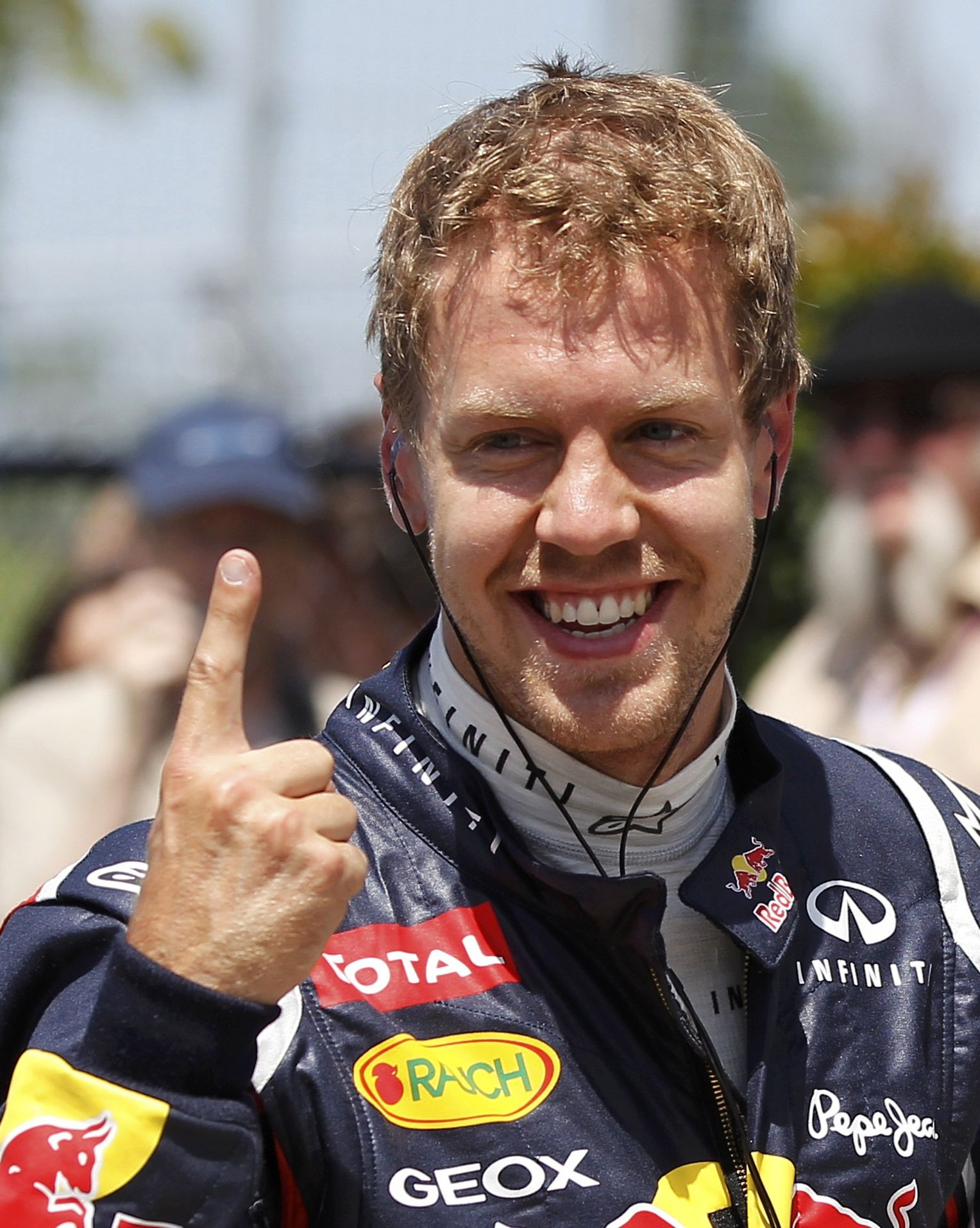Vettel Rennfahrer