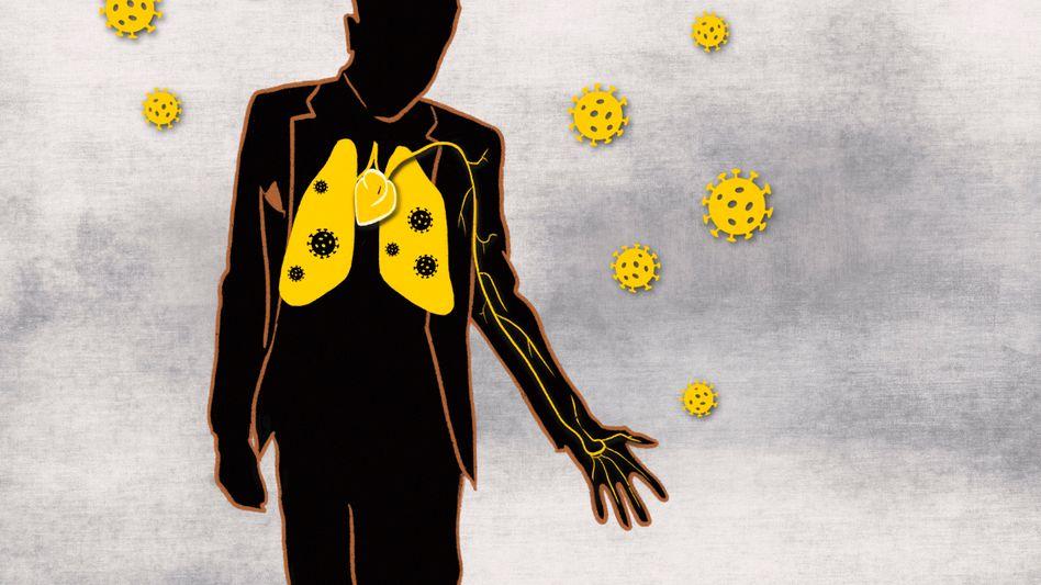 Wie viele Menschen waren bereits mit Sars-CoV-2 infiziert, ohne es zu wissen?