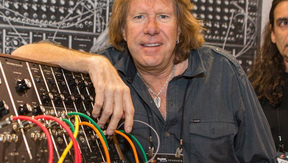 Der Keyboarder Keith Emerson