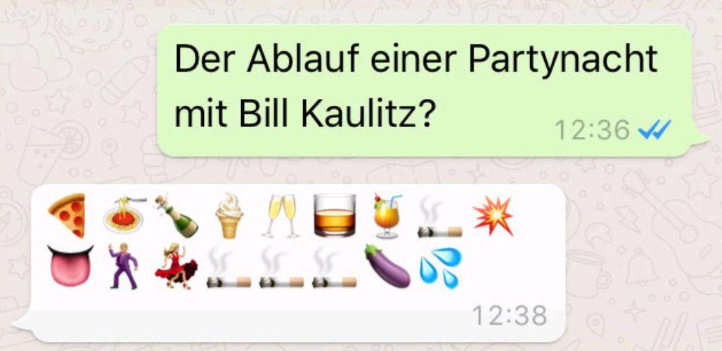 Emoji-Interview mit Bill Kaulitz & Özdemir