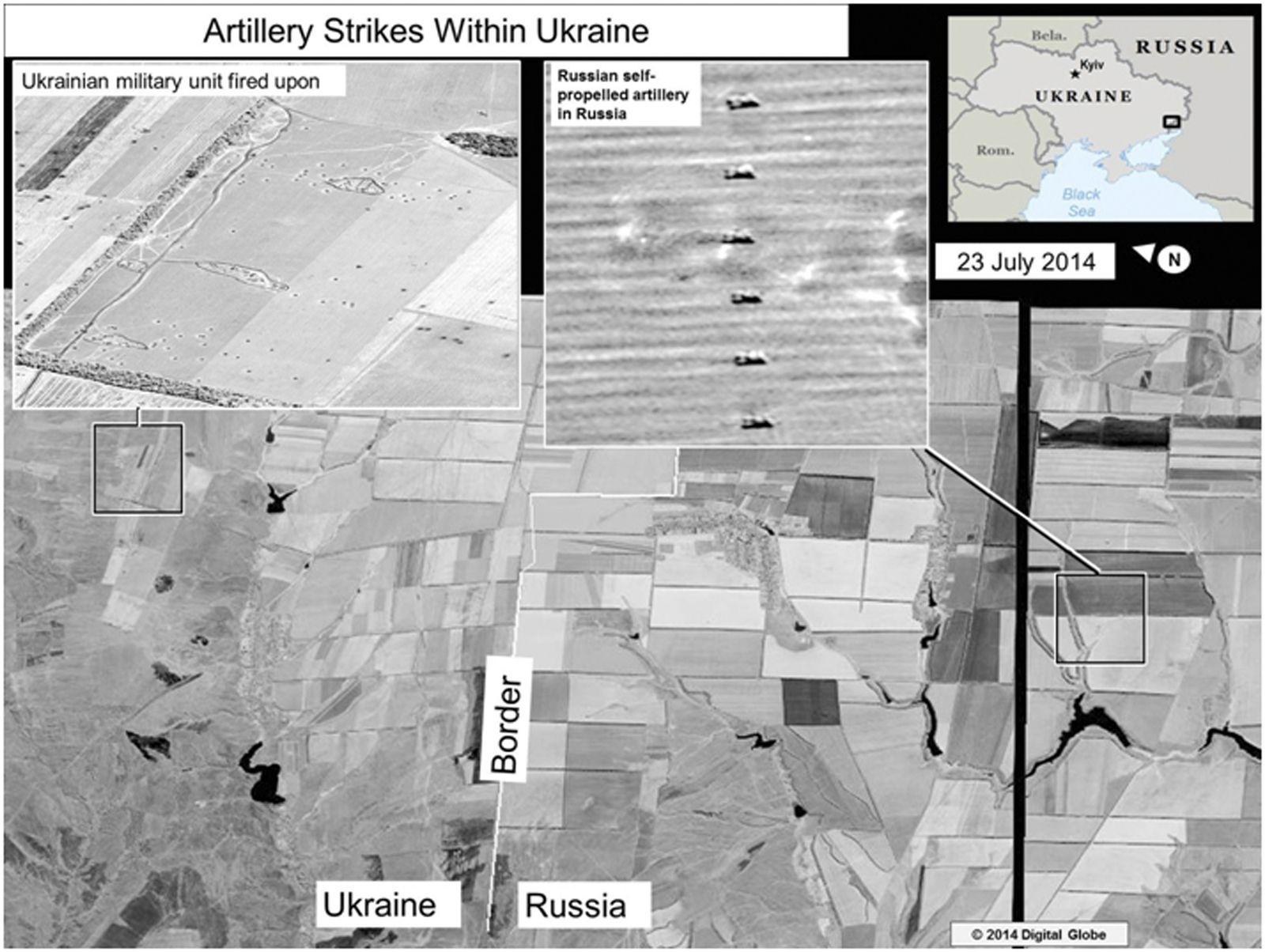 EINMALIGE VERWENDUNG US-Beweise Ukraine