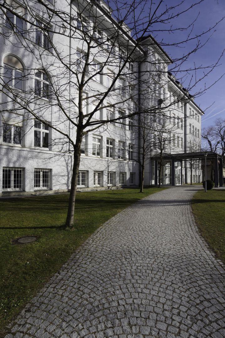 Gebäude des MPI für Psychiatrie in München