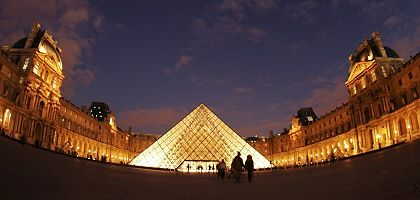 The Louvre in Paris: The museum will receive $630 million for the right of Louvre Abu Dhabi to use its name.