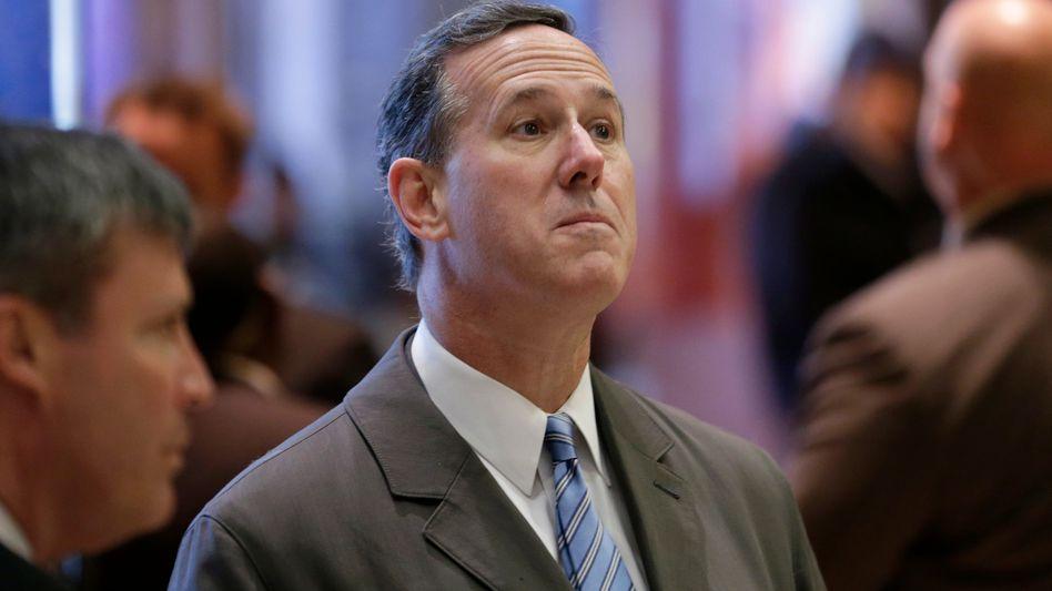 Ex-Senator und nun auch Ex-Kommentator von CNN: Rick Santorum