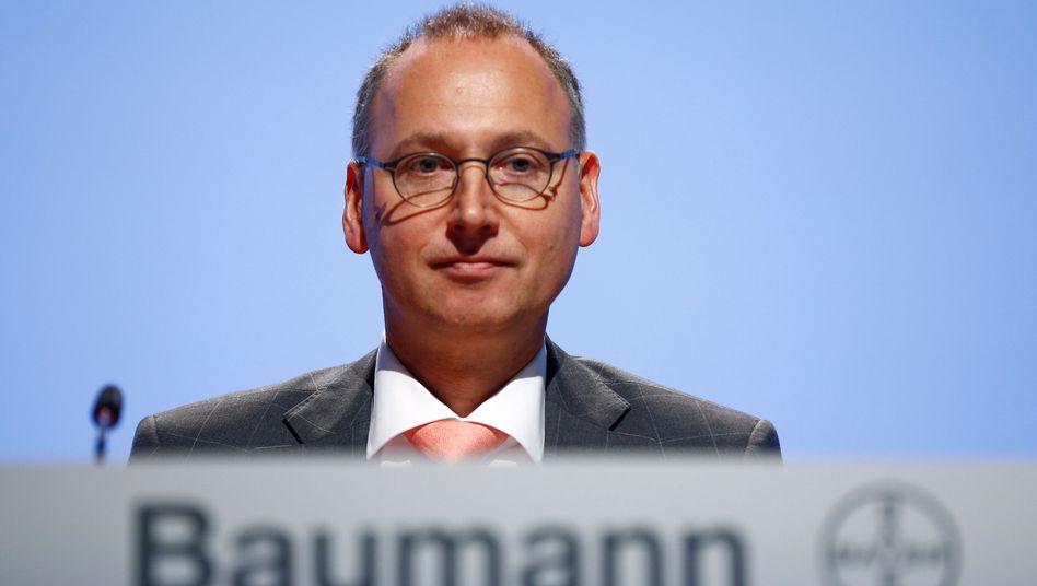 Traut sich was: Bayer-Chef Werner Baumann