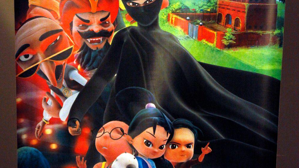 Zeichentrickserie in Pakistan: Verhüllte Superheldin