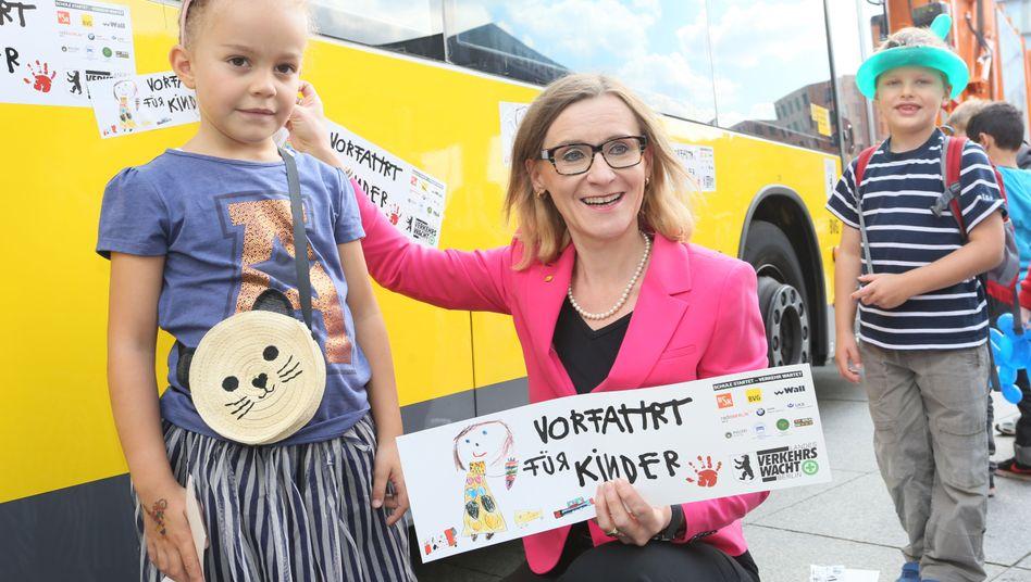 Sigrid Evelyn Nikutta, Chefin der BVG: Veranstaltung mit (nicht den eigenen) Kindern