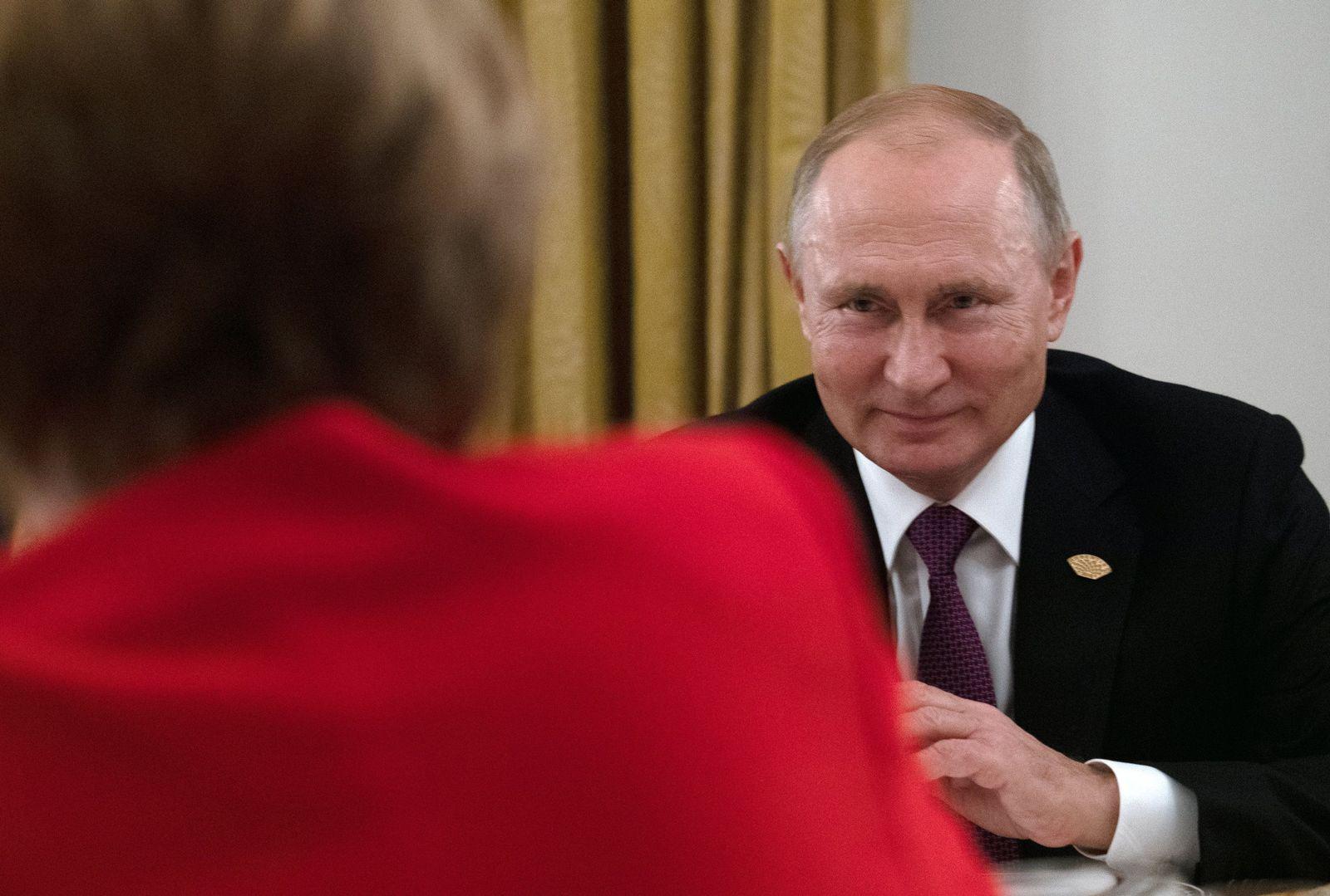 G20-Gipfel Argentinien Putin Merkel