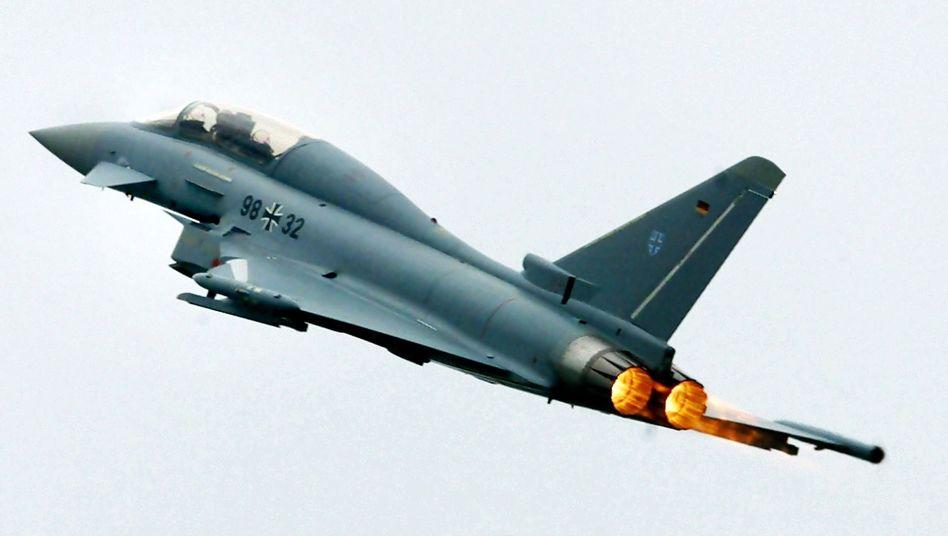 Luftwaffen-Jet Eurofighter: Probleme mit dem Schleudersitz
