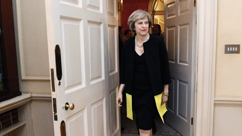May in 10 Downing Street
