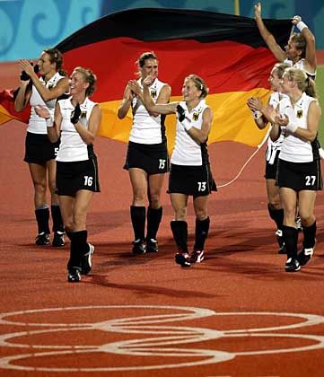 Größter Erfolg seit zwölf Jahren: Die deutschen Hockey-Damen feiern den Finaleinzug