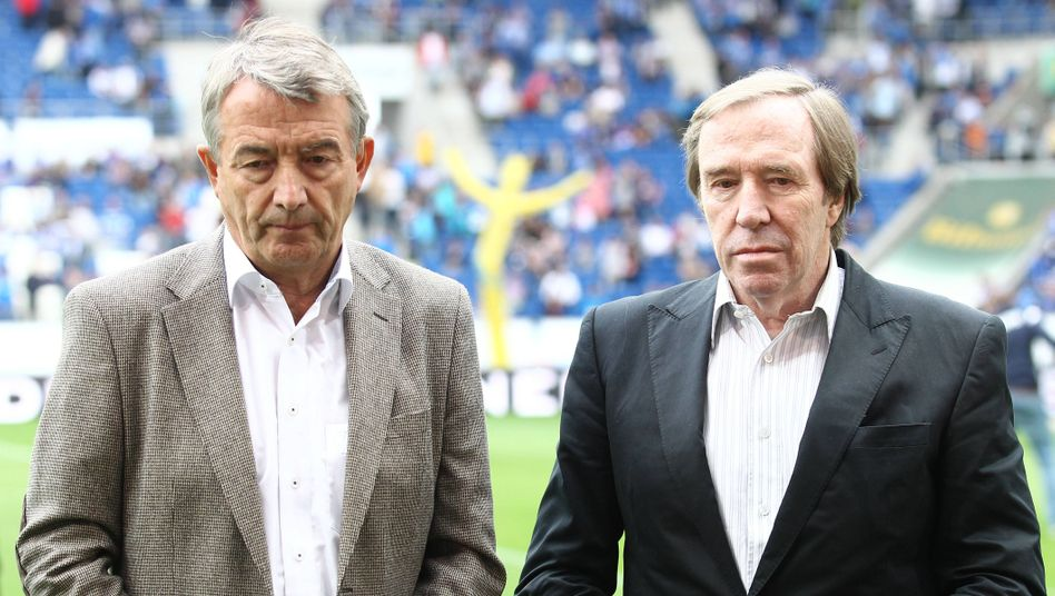 Ex-DFB-Präsident Niersbach, Infront-Direktor Netzer: Törn unter Freunden