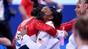 »Mehr als stolz auf dich« – Simone Biles gratuliert Teamkollegin Lee zu Gold