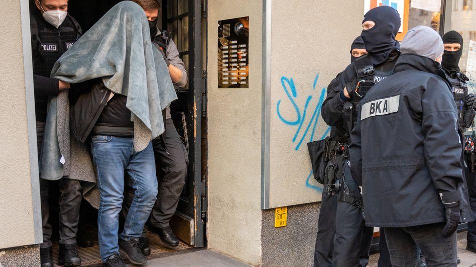 Encrochat-Razzia gegen Mitglieder des Remmo-Clans in Berlin im Februar