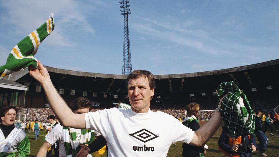 Billy McNeill als Celtic-Coach 1988