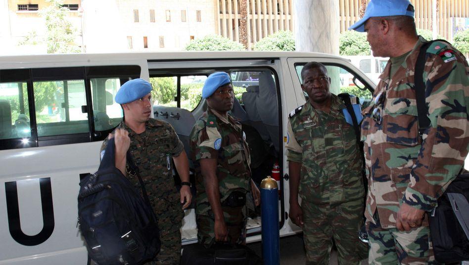 Uno-Beobachter in Syrien: Schüsse auf die Delegation der Vereinten Nationen