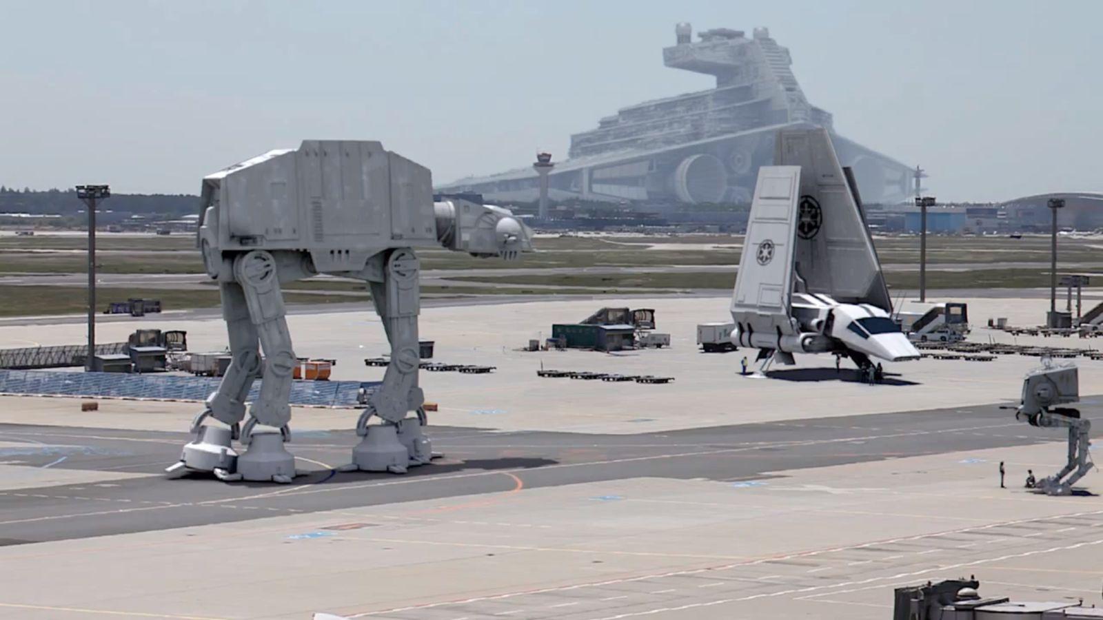 NUR ALS ZITAT Screenshot Starport Frankfurt/ Stars Wars