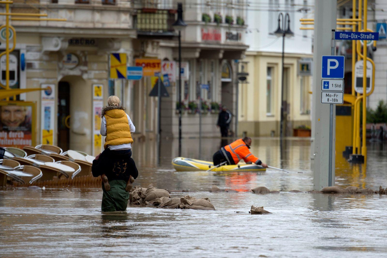 Hochwasser / Thüringen