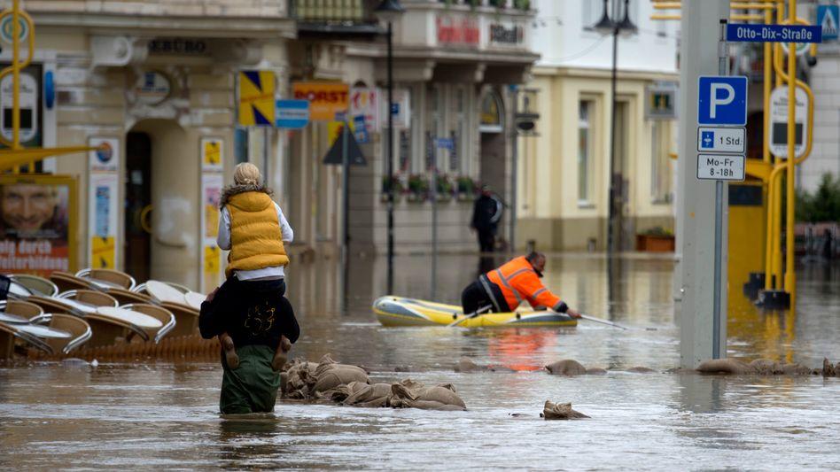 Hochwasser in Gera: Flut und Hochwasser setzen der Wirtschaft zu