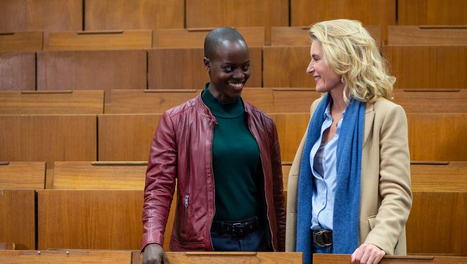 """Florence Kasumba und Maria Furtwängler am Set des Göttinger """"Tatort"""": """"So bin ich nicht"""""""