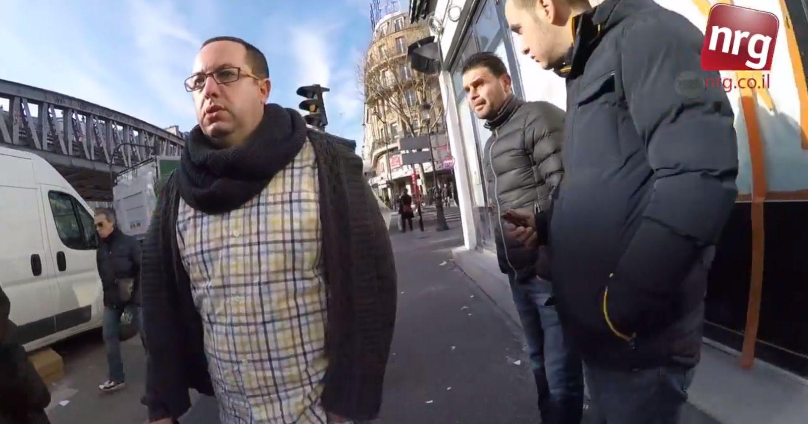NUR ALS ZITAT Als Jude durch Paris/ Videoexperiment