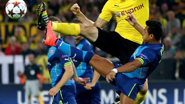 Dortmunds Sieg gegen Arsenal: Beweglicher Immobile