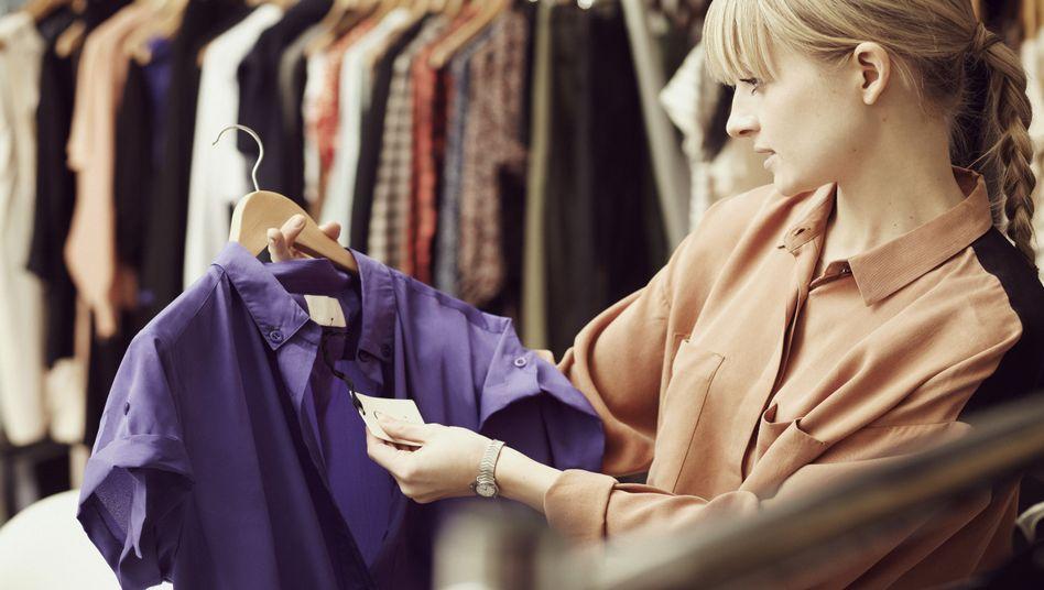Beim Einkauf: Es geht um den Akt des Shoppens