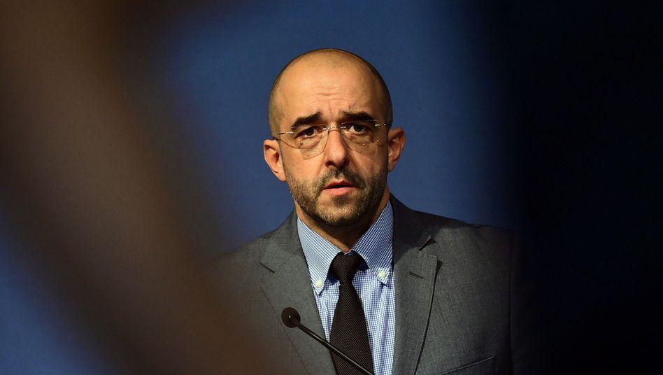 Der ungarische Regierungssprecher Zoltan Kovacs (Archivbild)
