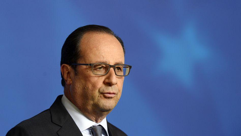 Präsident Hollande: Rasche Rückkehr nach Paris