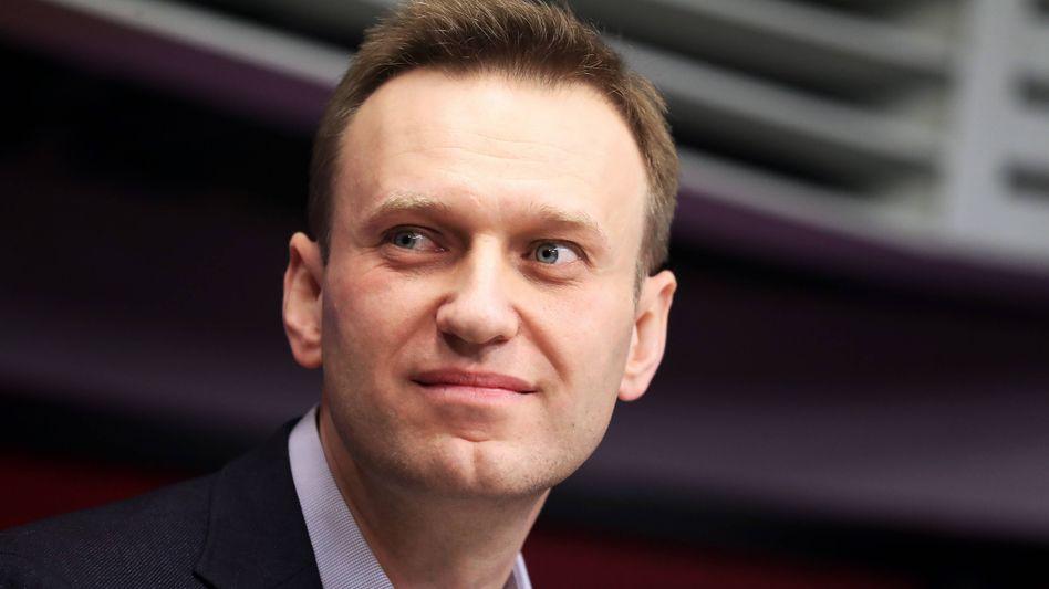 Russischer Oppositionspolitiker Nawalny (im März 2018)
