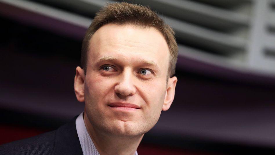 Der russische OppositionelleAlexej Nawalny (Aufnahme von 2018)